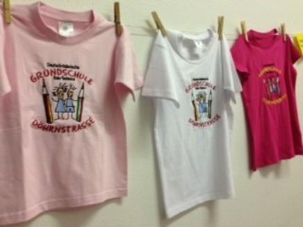 Unsere Schul-t-shirts